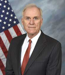 Richard V. Spencer was sworn in as the 76th secretary of the Navy on Aug. 3, 2017.